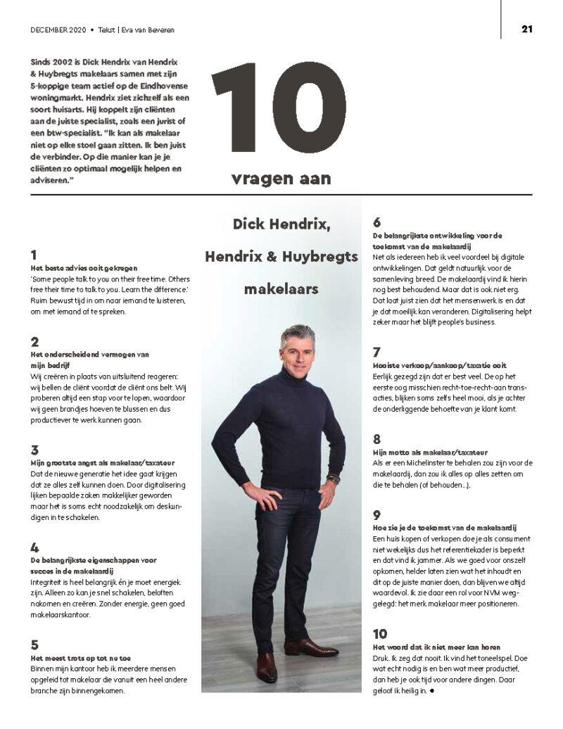 Interview in NVM Magazine